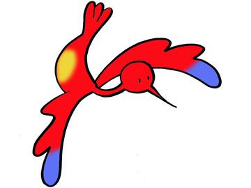 Gekleurde vogeltje - Even voorstellen